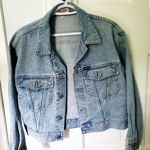 Vintage GUESS oversized denim jacket